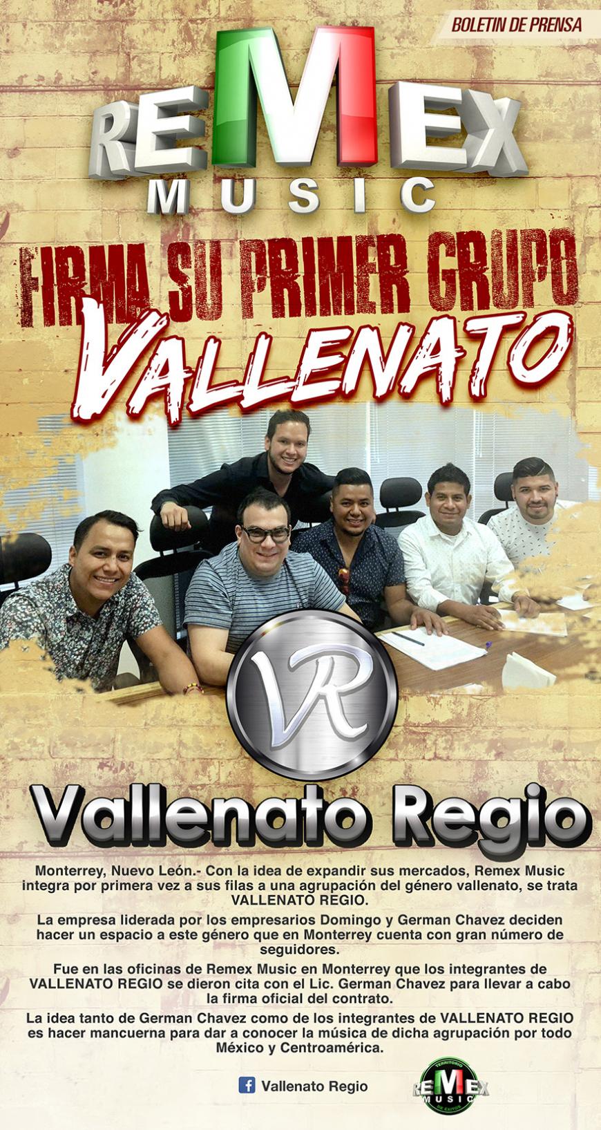 VALLENATO REGIO REMEX