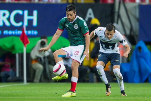 Cr Chivas Pumas Mex Empate1 1