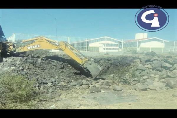 INICIA CONSTRUCCIÓN DEL PUENTE DE INGRESO AL TELEBACHILLERATO DEL ALGODONAL