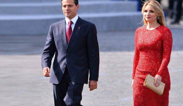 ANGÉLICA RIVERA CONFIRMÓ SU SEPARACIÓN MATRIMONIAL DEL EX-PRESIDENTE DE MÉXICO, ENRIQUE PEÑA NIETO